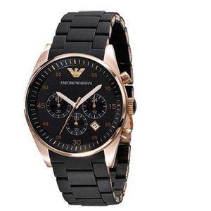 Emporio Armani AR5905 Sportivo Rosetone Watch